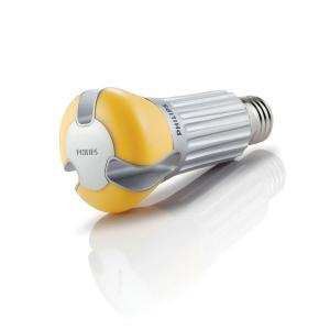 Phillips LED A19 side view Dimmable 800 lumen 60w replmnt img amz Tech Update: Two New Philips LED Replacement Lightbulbs Shine